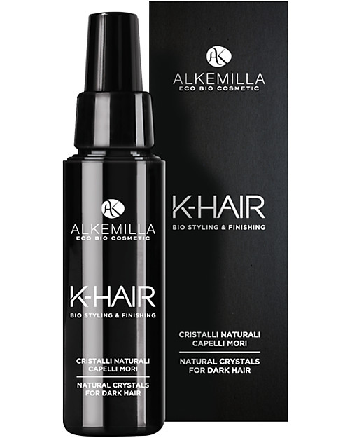Alkemilla Natural Crystals for Dark Hair, K-Hair - 50 ml Hair Care