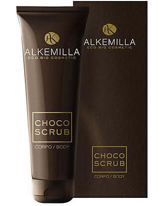 Alkemilla Organic Choco Body Scrub - 250 ml Body Lotions And Oils