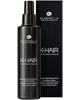 Alkemilla Organic Dryer/Hair Iron Heat Protection Spray, K-Hair - 100 ml Shampoos And Baby Bath Wash