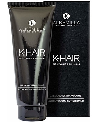 Alkemilla Organic Extra Volume Conditioner, K-Hair  - 200 ml Shampoos And Baby Bath Wash