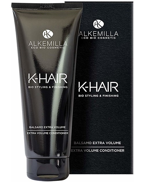 Alkemilla Organic Extra Volume Conditioner, K-Hair  - 200 ml Shampoos And Bath Wash