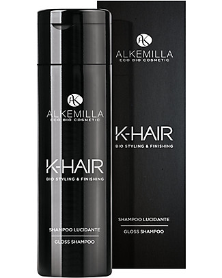 Alkemilla Organic Gloss Shampoo, K-Hair - 250 ml Shampoos And Bath Wash