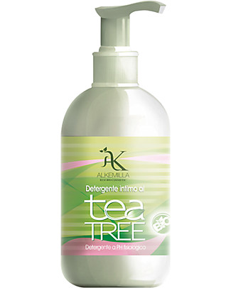 Alkemilla Organic Intimate Wash, Tea Tree - 250 ml Intimate Hygiene
