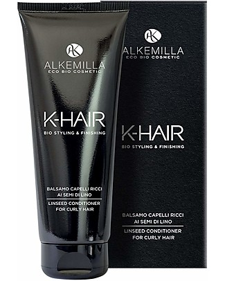Alkemilla Organic Linseed Conditioner for Curly Hair, K-Hair - 200 ml Hair Care