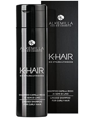 Alkemilla Organic Linseed Shampoo For Curly Hair, K-Hair - 250 ml Shampoos And Baby Bath Wash