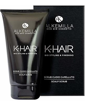 Alkemilla Organic Scalp Scrub, K-Hair - 150 ml Shampoos And Baby Bath Wash