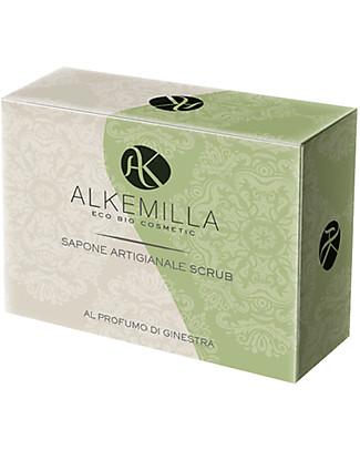 Alkemilla Organic Scrub Soap With Broom Fragrance - 100 gr Detergents