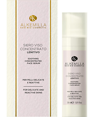 Alkemilla Soothing Concentrated Face Serum, for Sensitive Skin - 30 ml Face
