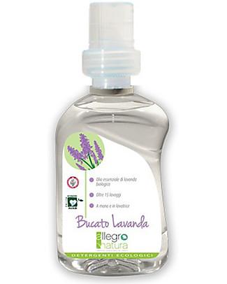 Allegro Natura Organic Lavander Soap, 500 ml - For Hand Washing or washing Machine Detergents