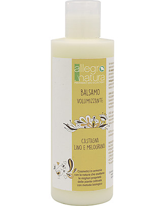 Allegro Natura Volumizing Hair Conditioner, 200 ml - For all types of Hair Shampoos And Baby Bath Wash