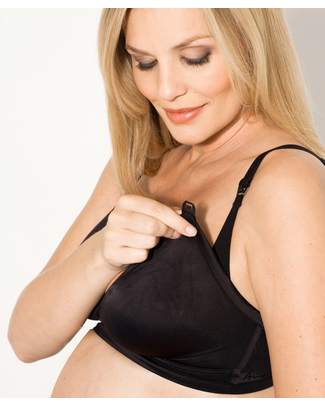 Amoralia Second Skin Nursing Bra - Black Bras