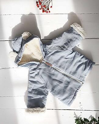 Annaliv Hygge Hoodie Blue - Cotone Shearling Bio Jackets