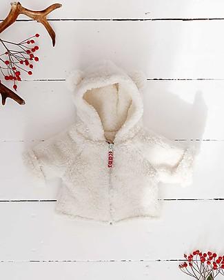 Annaliv Hygge Hoodie Naturale - Cotone Shearling Bio Jackets