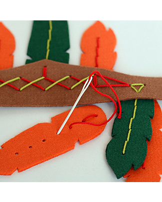 aPunt Barcelona Indian Sewing Kit - Create your own Indian accessory! Art & Craft Kits