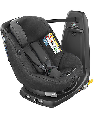 Bébé Confort/Maxi Cosi AxissFix Air Car Seat Group 1, Nomad Black - from 4 months to 4 years, Best of Category Toddler Car Seats