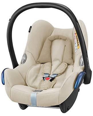 Bébé Confort/Maxi Cosi CabrioFix Car Seat, Nomad Sand – 0-12 Months, Light and Safe! Car Seats