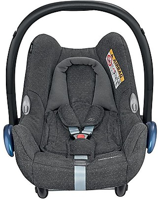 Bébé Confort/Maxi Cosi CabrioFix Car Seat, Sparkling Grey - 0-12 Months, Light and Safe Baby Car Seats