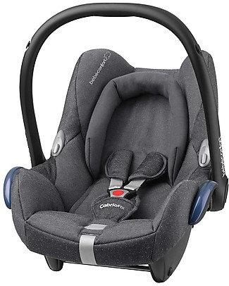 Bébé Confort/Maxi Cosi CabrioFix Car Seat, Sparkling Grey - 0-12 Months, Light and Safe Car Seats