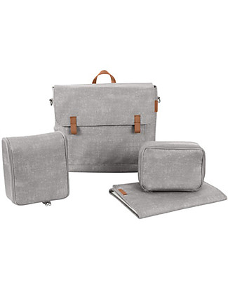 Bébé Confort/Maxi Cosi Nursery Modern Bag, Nomad Grey - Perfect for Baby Changing! Diaper Changing Bags & Accessories