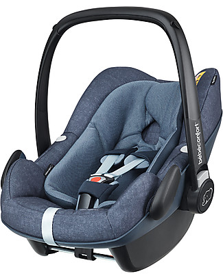 Bébé Confort/Maxi Cosi Pebble Plus Car Seat, Nomad Blue - 0-12 months, i-Size R129 Approved Car Seats