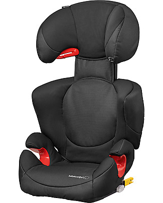 Bébé Confort/Maxi Cosi Rodi Xp Fix Car Seat 2/3 Group, Night Black - From 3.5 to 12 years, Maximum Protection Child Car Seats