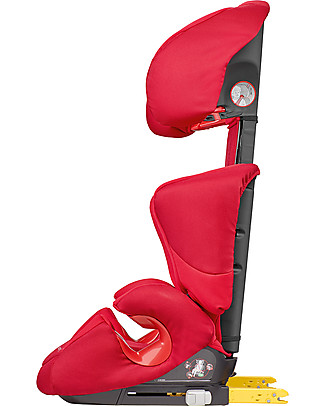 Bébé Confort/Maxi Cosi Rodi Xp Fix Car Seat, Poppy Red - From 3.5 to 12 years, Maximum Protection Car Seats