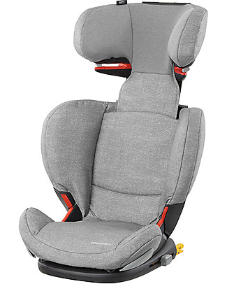 Bébé Confort/Maxi Cosi RodiFix Airprotect, Car Seat Groups 2-3, Nomad Grey - From 3.5 to 12 years Car Seats