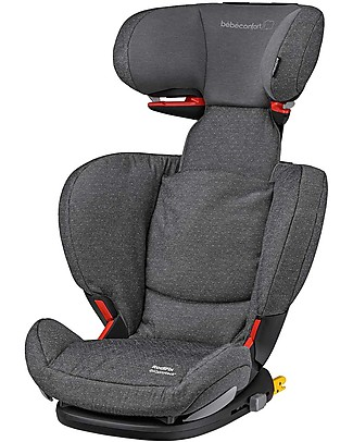 Bébé Confort/Maxi Cosi RodiFix Airprotect, Car Seat Groups 2-3, Sparkling Grey - From 3.5 to 12 years Car Seats