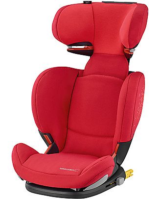 Bébé Confort/Maxi Cosi RodiFix Airprotect, Car Seat Groups 2-3, Vivid Red - From 3.5 to 12 years Car Seats