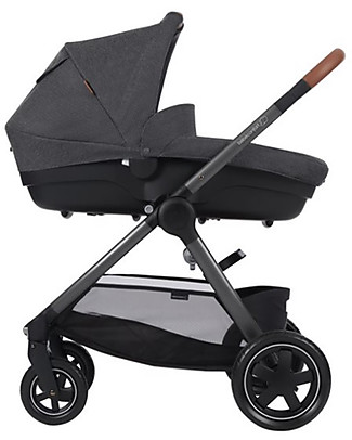 Bébé Confort/Maxi Cosi Stroller Adorra, Sparkling Grey - From Birth to 3.5 years, with Huge Basket! Pushchairs