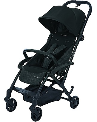 Bébé Confort/Maxi Cosi Stroller Laika, Nomad Black - From Birth to 3.5 years, One-hand fold! Pushchairs