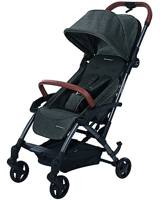 Bébé Confort/Maxi Cosi Stroller Laika, Sparkling Grey - From Birth to 3.5 years, One-hand fold! Pushchairs
