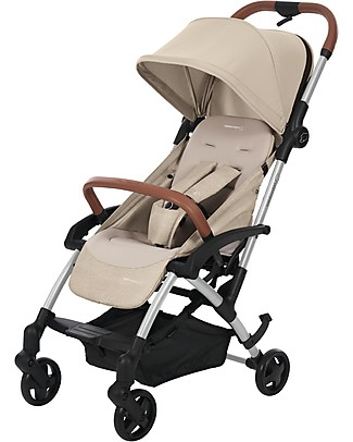 Bébé Confort/Maxi Cosi Stroller Laika2, Nomad Sand - From Birth to 3.5 years, Super-Urban! null