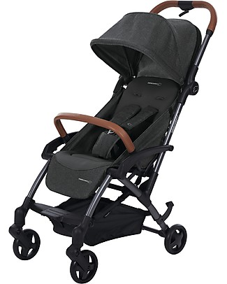 Bébé Confort/Maxi Cosi Stroller Laika2, Sparkling Grey - From Birth to 3.5 years, Super-urban! Lights Strollers