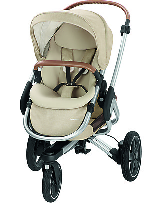 Bébé Confort/Maxi Cosi Stroller Nova 3 Wheels, Nomad Sand - Up to 3.5 years, hands-free folding! Pushchairs