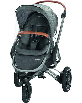 Bébé Confort/Maxi Cosi Stroller Nova 3 Wheels, Sparkling Grey - Up to 3.5 years, hands-free folding! Travel Systems