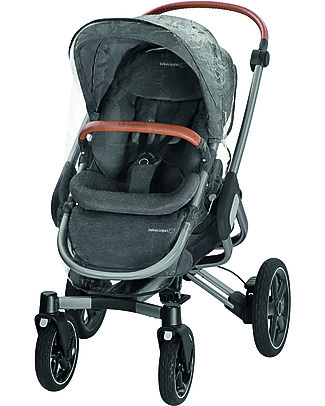 Bébé Confort/Maxi Cosi Stroller Nova 4 Wheels, Sparkling Grey - Up to 3.5 years, hands-free folding! Pushchairs