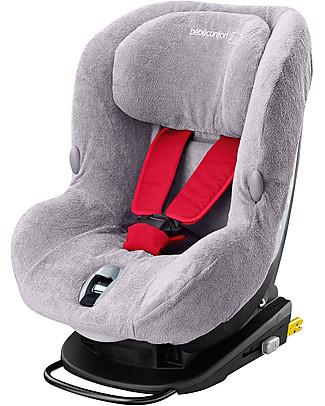 Bébé Confort/Maxi Cosi Summer Cover for MiloFix Car Seat, Cool Grey – Terry Cotton Car Seat Accessories