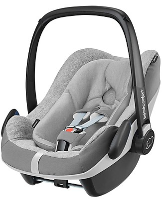 Bébé Confort/Maxi Cosi Summer Cover for Pebble Plus Car Seat, Grey - To Keep your Baby Cool! Car Seats