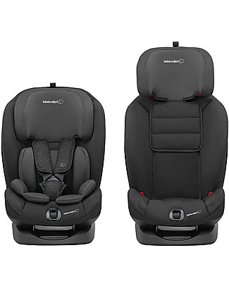 Bébé Confort/Maxi Cosi Titan Car Seat Isofix Group 1/2/3, Nomad Black - From 9 months to 12 years Toddler Car Seats