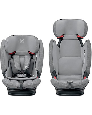 Bébé Confort/Maxi Cosi Titan Pro Car Seat Isofix Group 1/2/3, Nomad Grey - From 9 months to 12 years Toddler Car Seats