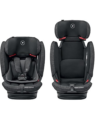 Bébé Confort/Maxi Cosi Titan Pro Car Seat, Nomad Black - From 9 months to 12 years, Multi-Age Car Seats