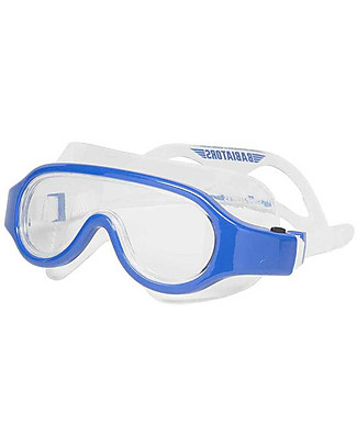 Babiators Kids Swimming Goggles 3+ years, Submarine Collection - Blue Angels - 1 Year Lost & Found Guarantee Sunglasses