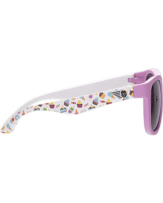 Babiators Sunglasses Navigator, Sweet Treats - 100% UV Protection - 1 Years Lost & Found Guarantee Sunglasses
