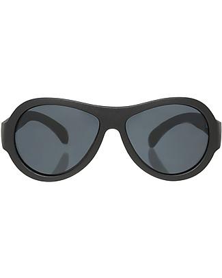 Babiators Sunglasses Original Aviators, Black Ops Black - 100% UV Protection - 1 Years Lost & Found Guarantee Sunglasses