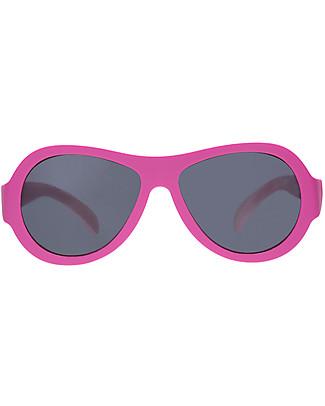 Babiators Sunglasses Original Aviators, Popstar Pink - 100% UV Protection - 1 Years Lost & Found Guarantee Sunglasses