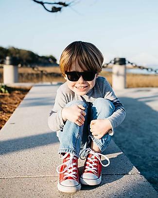 Babiators Sunglasses Original Navigartors, Black Ops Black - 100% UV Protection - 1 Years Lost & Found Guarantee Sunglasses