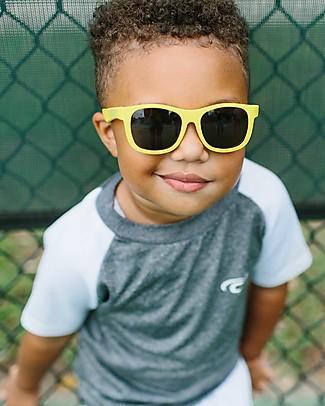 Babiators Sunglasses Original Navigartors, Hello Yellow - 100% UV Protection Sunglasses