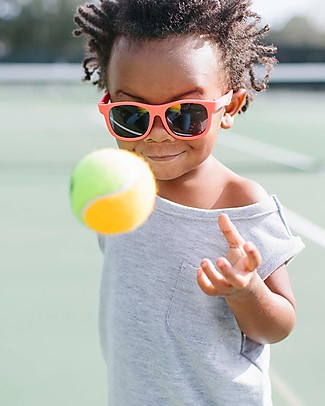 Babiators Sunglasses Original Navigartors, Rockin' Red - 100% UV Protection - 1 Years Lost & Found Guarantee Sunglasses