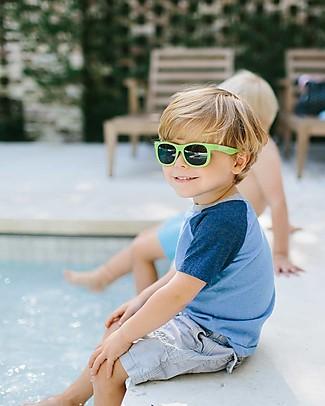 Babiators Sunglasses Original Navigartors, Sublime Lime - 100% UV Protection - 1 Years Lost & Found Guarantee Sunglasses